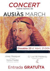 EEPN Dia del Llibre - Concert textes Ausias March